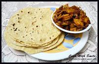 roti,rotli,puffed indian bread
