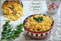 puffed rice chiwda,murmura chivda,murmura chivda recipe,khara kadlepuri,kara pori,masala pori,bhadang