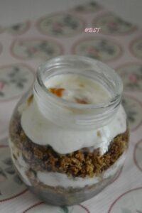 5- Apricot Granola Parfait
