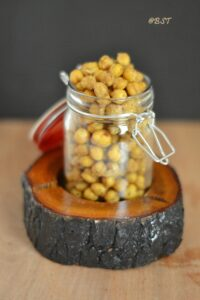 25. Baked Chickpeas