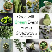 green ingredients food