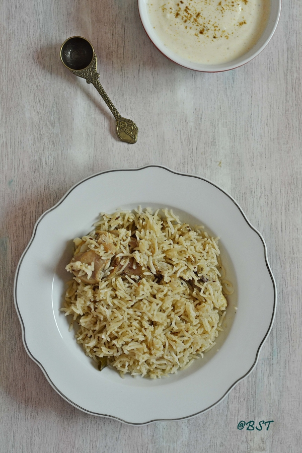 11. Pakistani Chicken Pulao