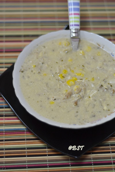 33. Sweetcorn Chicken Soup