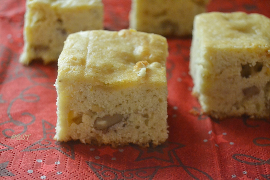 29. Orange Walnut Squares
