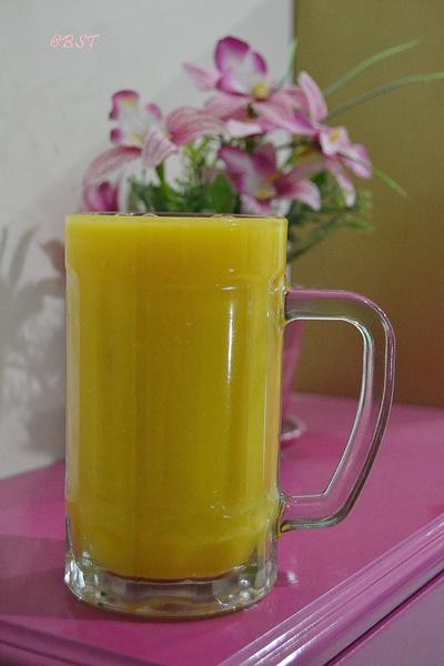 16- Mango Cantaloupe Juice