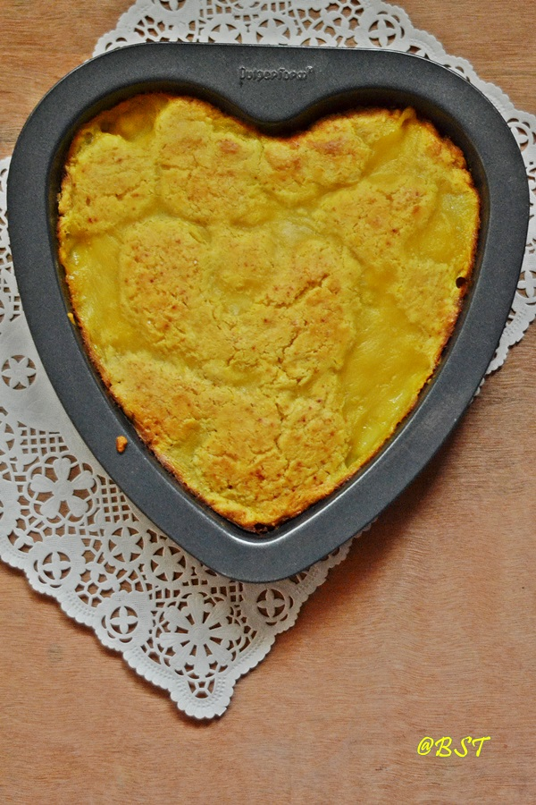 5. Custard Pudding Cake